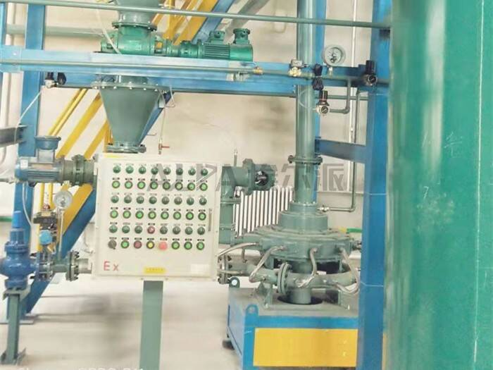 MQPW系列气流粉碎机 内置分级轮 高纯度 无污染防爆